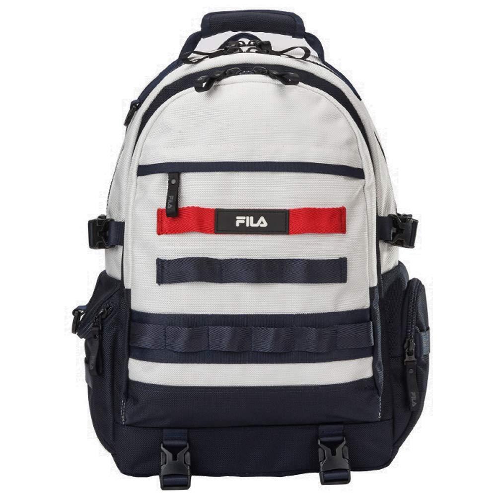[フィラ] FILA FORCE BACKPACK Off White FS3BPA5001X フォース バックパック オフホワイト 大容量 リュックサック [並行輸入品]   B07MJTYHV9