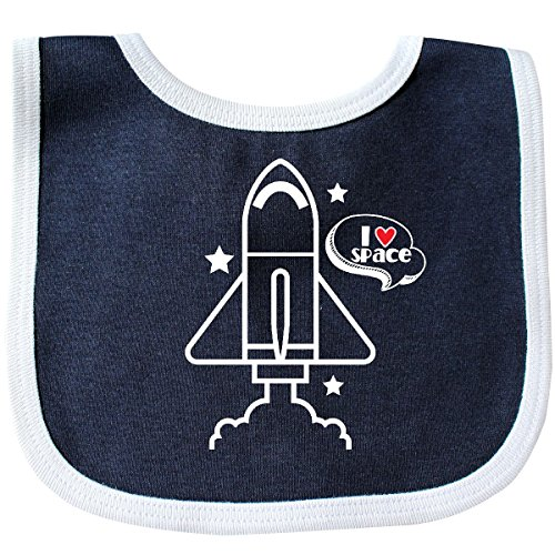 Outfits Space Outer (Inktastic - Rocket Ship I Love Space Baby Bib)