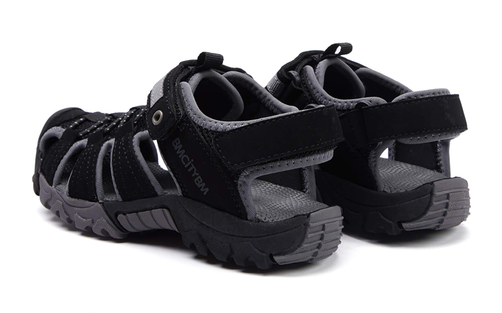 BMCiTYBM Girls Boys Hiking Sport Sandals Toddler Kid Closed Toe Water Shoes Black Size 3 by BMCiTYBM (Image #5)