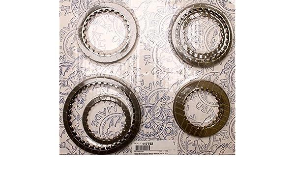 117752 - 722.5 W5 a030, disco de fricción Kit de embrague, 5 velocidades, Overdrive, 1990-up: Amazon.es: Coche y moto