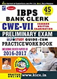 Kiran's IBPS Bank Clerk CWE-VII Preliminary Exam Self Study Guide-cum-Practice Work Book with CD - 2015