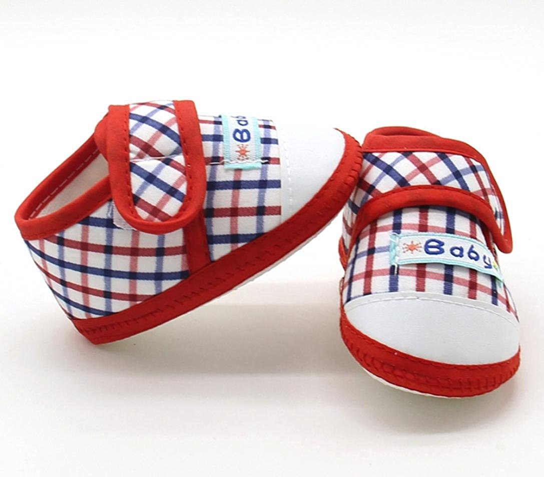 Botrong Newborn Infant Baby Boys Girls Soft Sole Prewalker Casual Flats Shoes