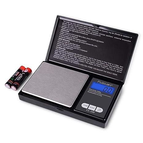 Amazon.com: Escala de bolsillo digital de Fuzion, miniescala ...