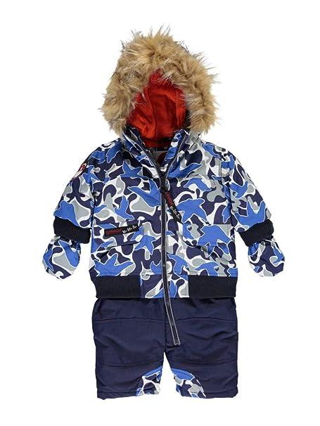 cd2dda74f Canada Weather Gear Baby Boys  Winter Warmer 1-Piece Snowsuit - blue ...