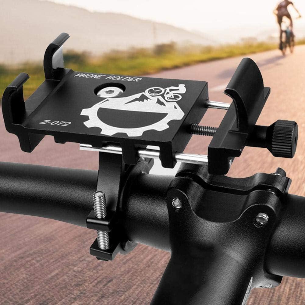 Smartphone Caste Fahrrad Handyhalterung Aluminiumlegierung Motorrad Fahrrad Lenker Handy Halterung Universal Bike Fahrrad Halterung F/ür Handy Navi Usw F/ür 3,5 Zoll Bis 6,5 Zoll Smartphone