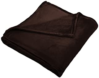 Pinzon Velvet Plush Blanket - King, Chocolate (B00BS4UH46) | Amazon price tracker / tracking, Amazon price history charts, Amazon price watches, Amazon price drop alerts