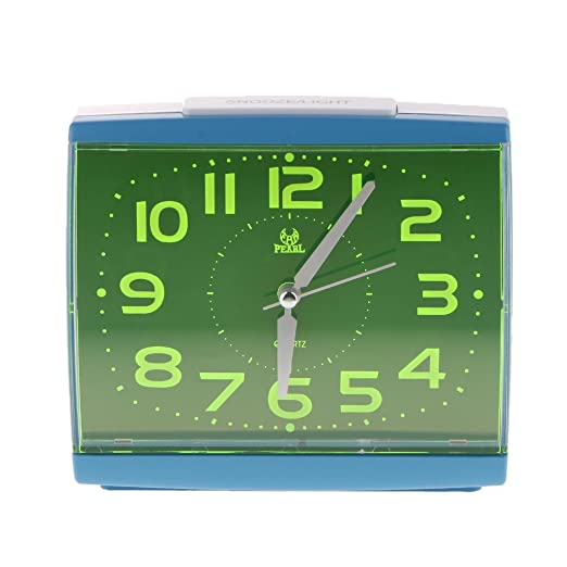 non-brand Reloj Alarm Clock Luminoso 14x6x13 cm para Hogar Mesa ...