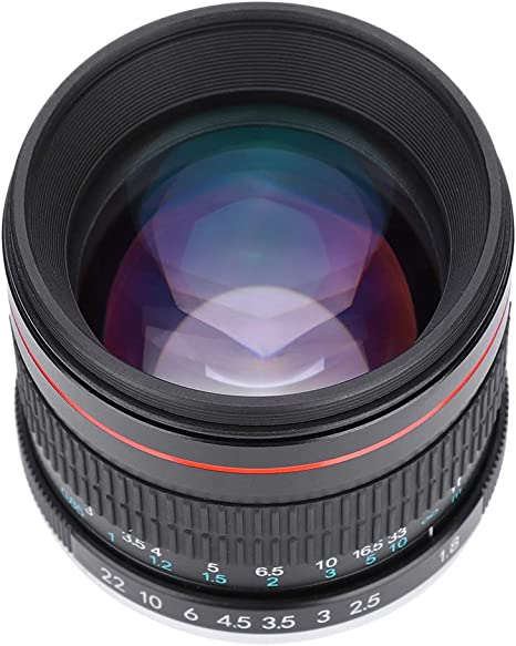 Pomya Lente de cámara Profesional para Canon para Nikon, 85 mm F1 ...