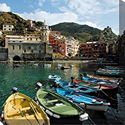 West of the Wind All-Weather Art Print, 24-Inch, Cinque Terre
