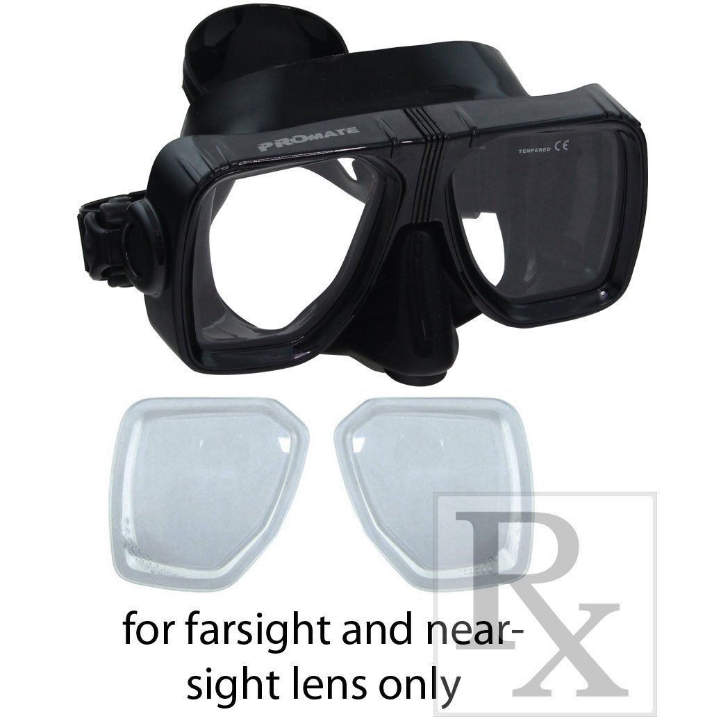 015be89981e Amazon.com   RX Scuba Dive Snorkeling Purge Mask Prescription Lenses  Farsightedness Nearsightedness Plain   Sports   Outdoors