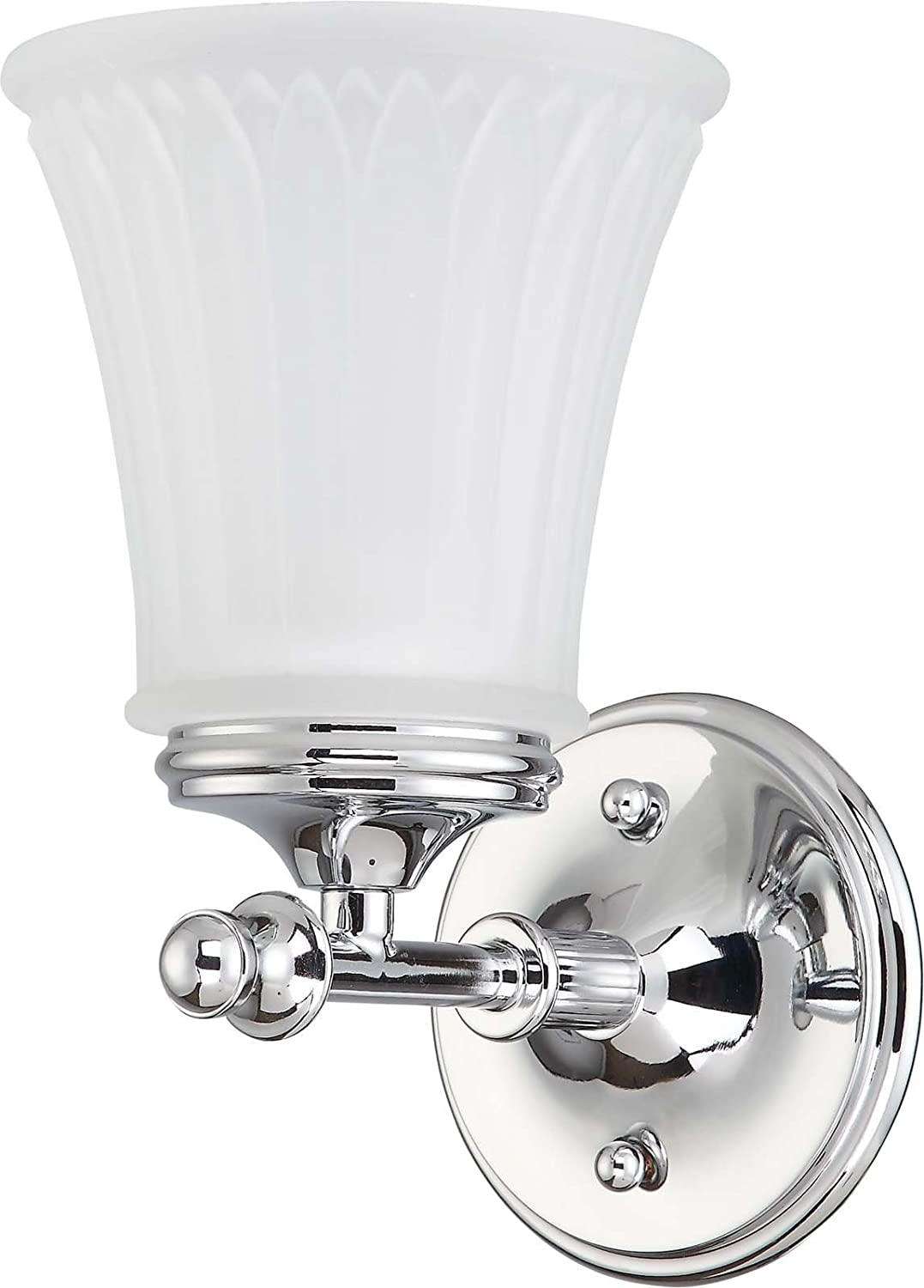 Nuvo Lighting 60//4271 Two Light Teller Medium Flush Dome with Frosted Etched Glass Polished Chrome CUL Damp Location