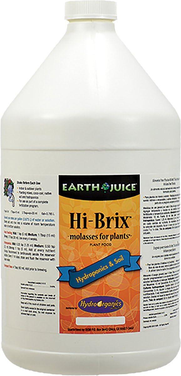 Earth Juice Hi-Brix Plant Food, 1 Gallon