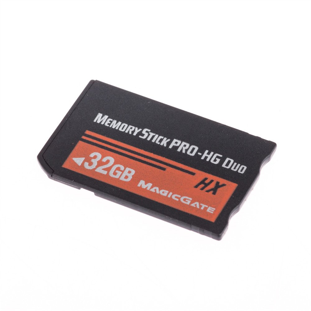 Guangyuweiye High Speed 32GB Memory Stick Pro-HG Duo 32GB (MS-HX32A) For Sony PSP Accessories memory card by Guangyuweiye