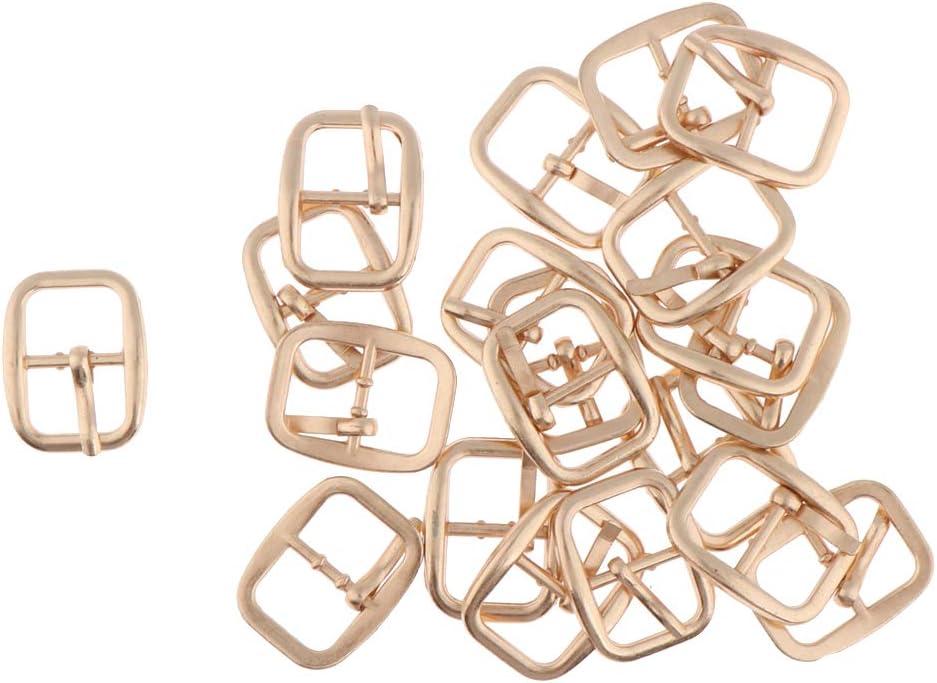 20 Unids Hebilla Deslizante Triangular Triple Met/álico Accesorios para Fabricaci/ón de Bolso Mochila Equipaje Negro Estilo 1-20pcs