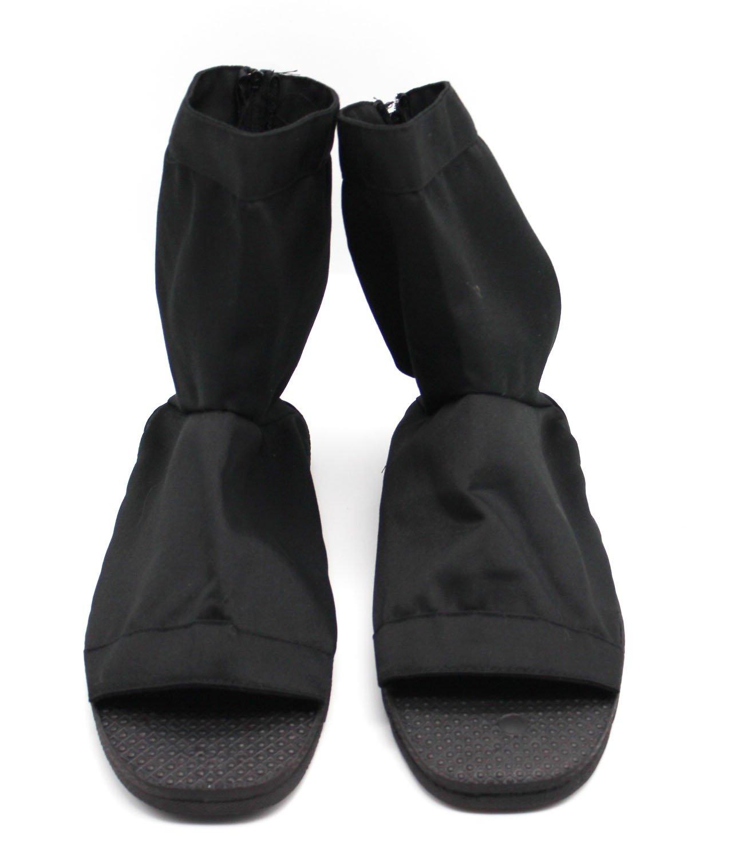 CoolChange Zapatos Ninja Cosplay, Negro, Talla: 44/45