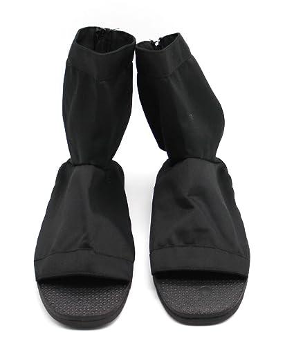 CoolChange Zapatos Ninja Cosplay, Negro, Talla: 38/39 ...