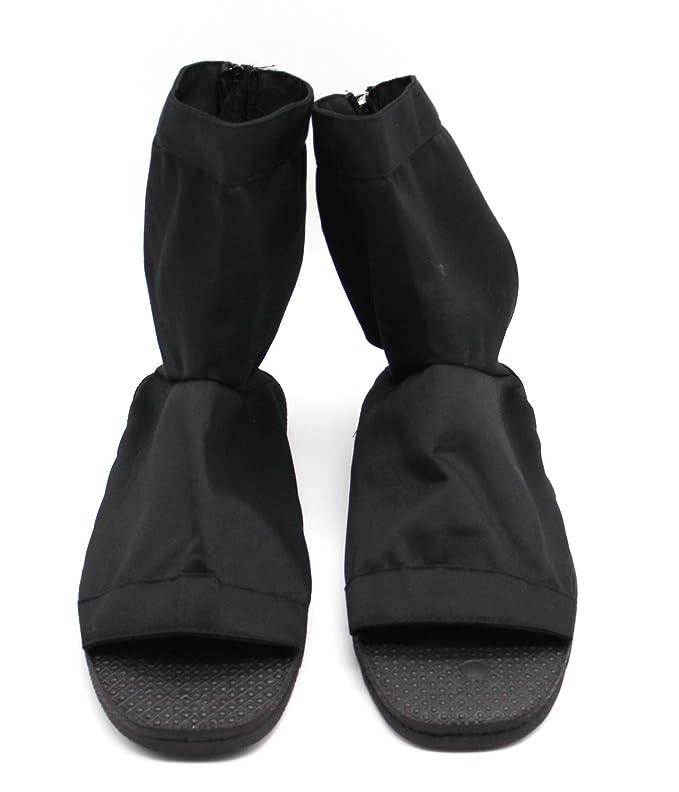 CoolChange Zapatos Ninja Cosplay, Negro, Talla: 40/41 ...