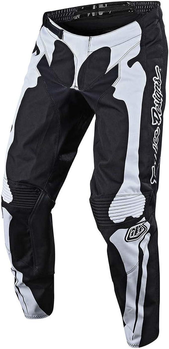 Troy Lee Designs Cross Hose Gp Skully Schwarz Gr 32 Bekleidung