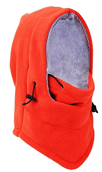 Bigood (TM) - grueso Lana al aire libre bufanda con capucha ...