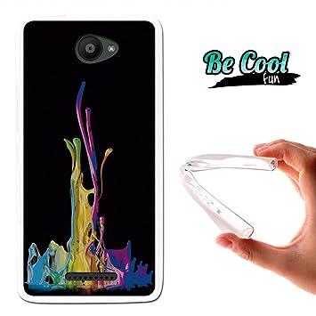 Becool® Fun - Funda Gel Flexible para Bq Aquaris U: Amazon.es ...