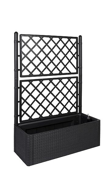 pflanztrog mit spalier sq54 hitoiro. Black Bedroom Furniture Sets. Home Design Ideas