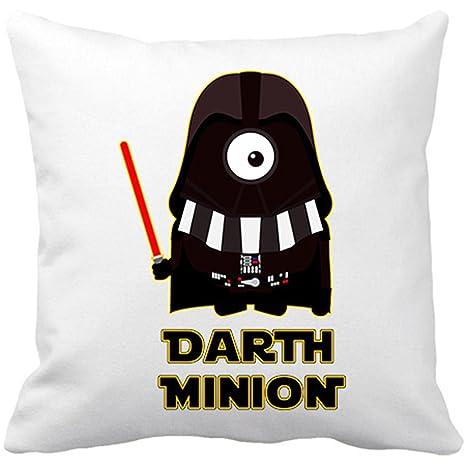 Cojín con relleno Star Wars Darth Vader Minion - Blanco, 35 ...