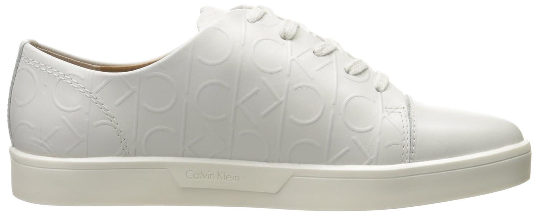Imilia Nappa Leather, Zapatillas Mujer, Blanco (White), 38 EU Calvin Klein