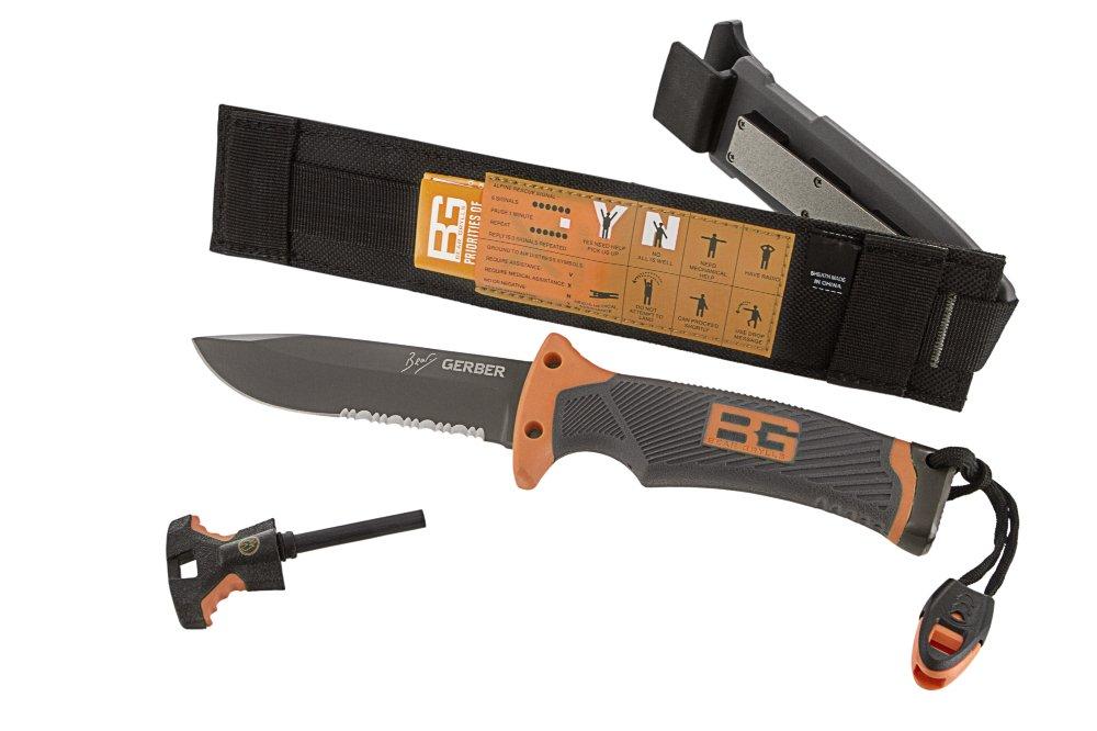 Gerber Bear Grylls Ultimate Knife, Serrated Edge [31-000751]