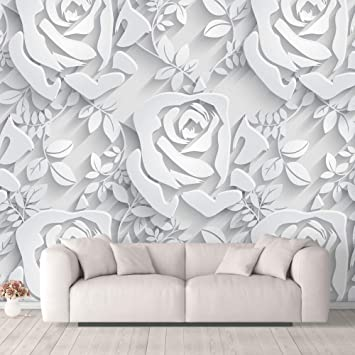 Buy Nwt Wall Murals For Bedroom Beautiful 3d View Pattern Flowers Removable Wallpaper Peel And Stick Wall Stickers 100x144 Inches Online At Low Prices In India Amazon In