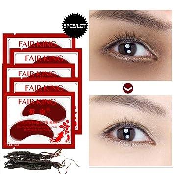 Amazon.com: Red Ginseng máscara de tratamiento de ojos bajo ...