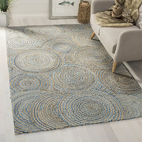 Safavieh CAP602A-8 Cape Cod Collection Flat weave Handmade Area Rug