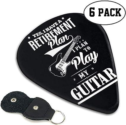 SÍ, TENGO un plan de jubilación. Planeo tocar mi guitarra Guitar ...