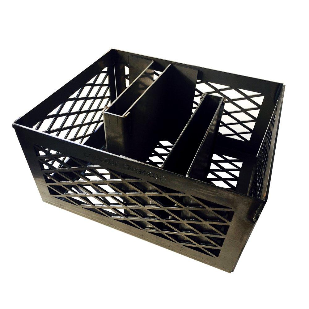 LavaLock Minion Method Charcoal Basket w/ 2 Maze Bars 12 x 10 x 6 by LavaLock® (Image #2)