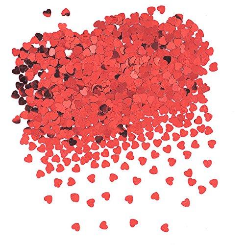 Unique 90352 Foil Heart Confetti