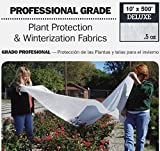DeWitt Deluxe .5 oz 10' x 500' Frost Freeze Protection Cloth Germination Blanket Deluxe10-5