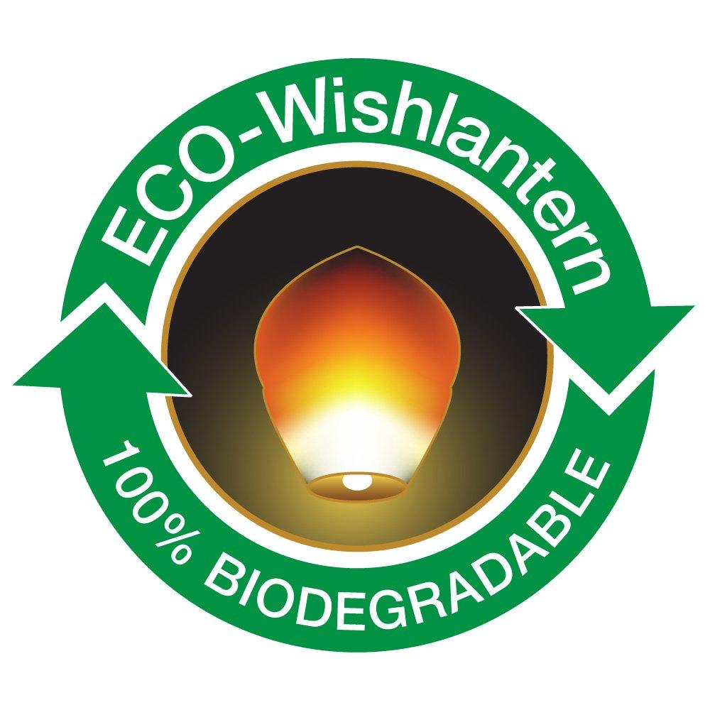 Wishlantern® Eco (Pack of 50) - The Original Sky Lanterns