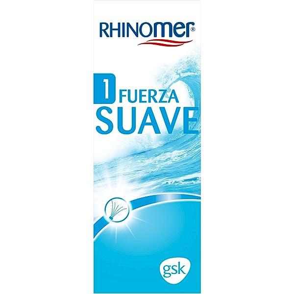 Rhinomer - Spray nasal 100% agua de mar, fuerza Suave 1, para ...