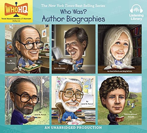 Who Was? Author Biographies (Roald Dahl, Jeff Kinney, J.K. Rowling, Maurice Sendak, Dr. Seuss, Laura Ingalls -