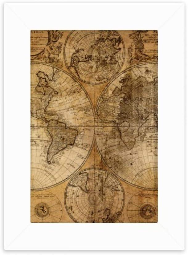 Amazon DIYthinker World Map Veins Pattern Background