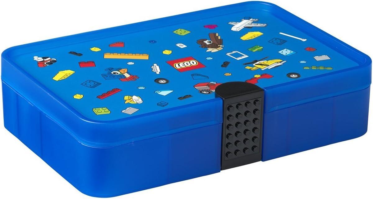 Room Copenhagen Caja clasificadora Lego Iconic, Brillante, Azul ...