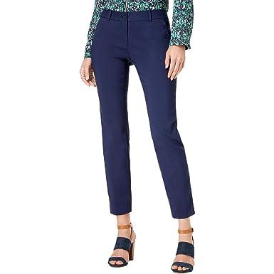 ffb1b886a589 Michael Michael Kors Womens Miranda Slim Leg Ankle Dress Pants at Amazon  Women's Clothing store: