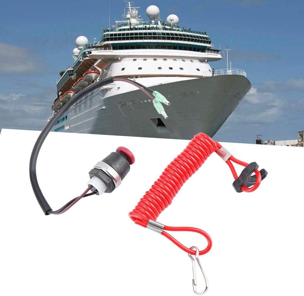 Cordon de retenue de s/écurit/é pour moteur marin hors-bord pour moteur marin ABS pour Mercury Tohatsu