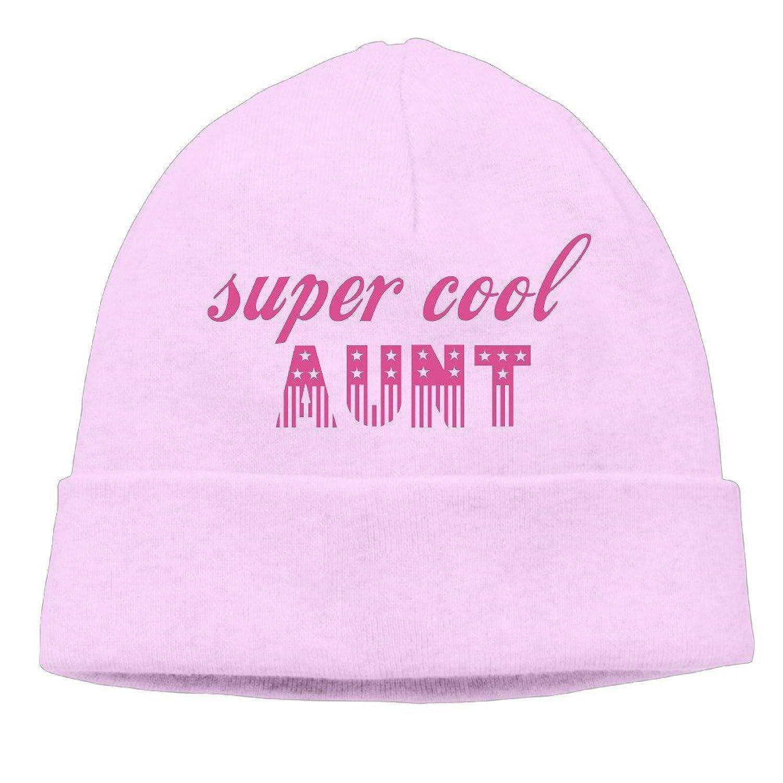 Super Cool Aunt Thin Stretch Short Beanie Cap