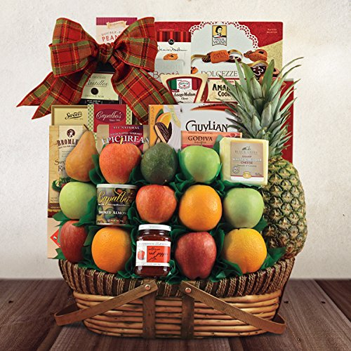 Sutton Place Fruit Gift Basket by Capalbo's Gift Baskets