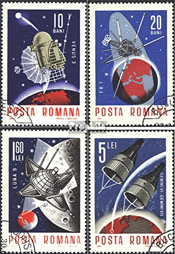 Romania 2509-2512 (Complete.Issue.) 1966 World Space 1966 (Stamps for Collectors) Space