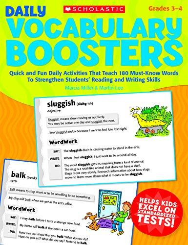 Scholastic Daily Vocabulary Builders