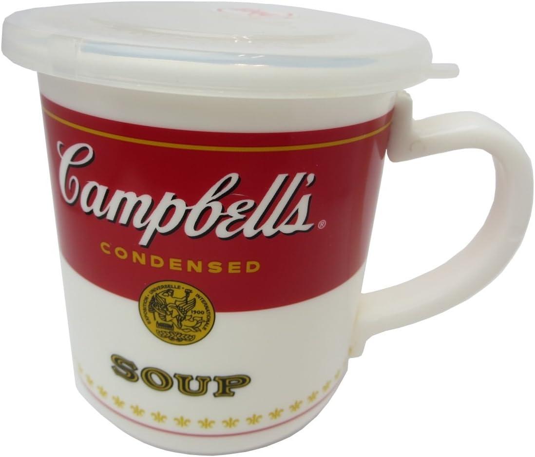 Campbell's Soup 14 Ounce Microwaveable Travel Mug
