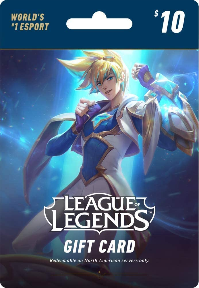 Amazon com: League of Legends $10 Gift Card – 1380 Riot