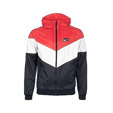 b60e6efaa0 Nike Veste Coupe Vent Sportswear Windrunner HD Gx QS Rouge/Blanc/Noir  Taille: