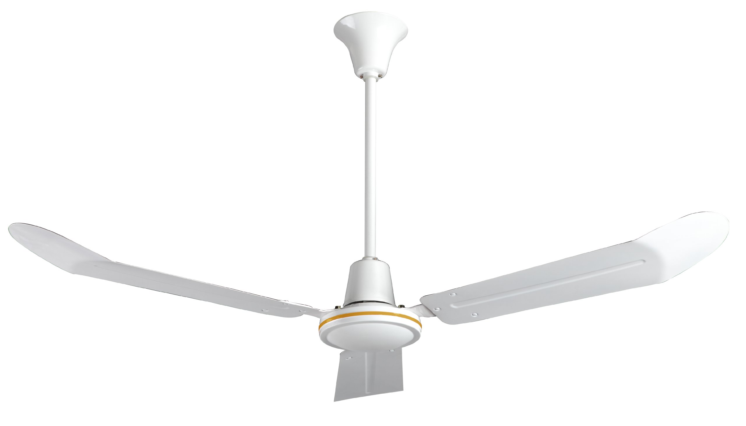 Ceiling Fan, Blade 56'' Dia, 120VAC, 84W